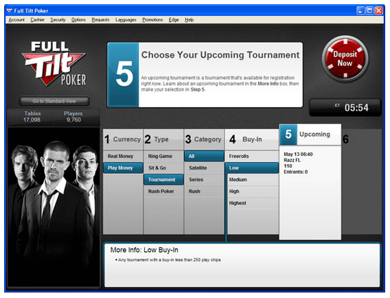 Full Tilt Poker program