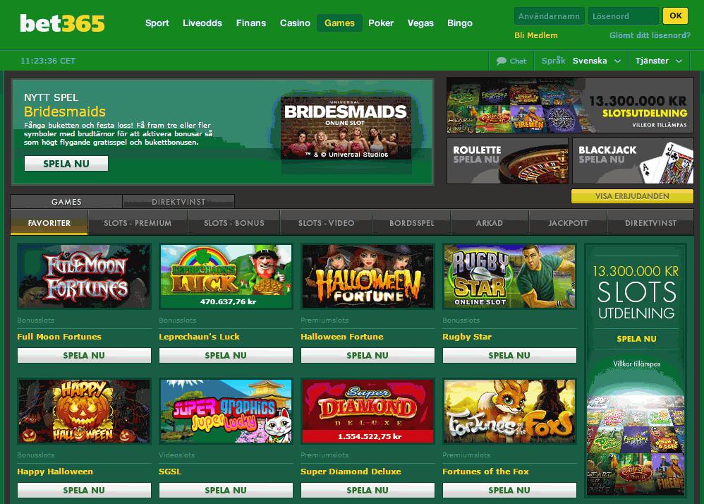 Bet365 hemsida Casino