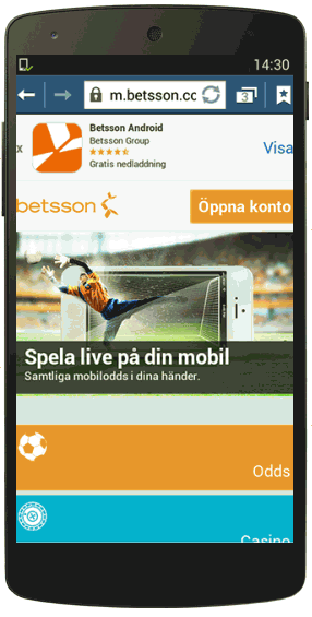 Betsson Android