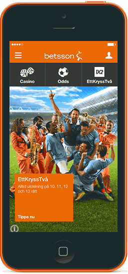 Betsson Iphone