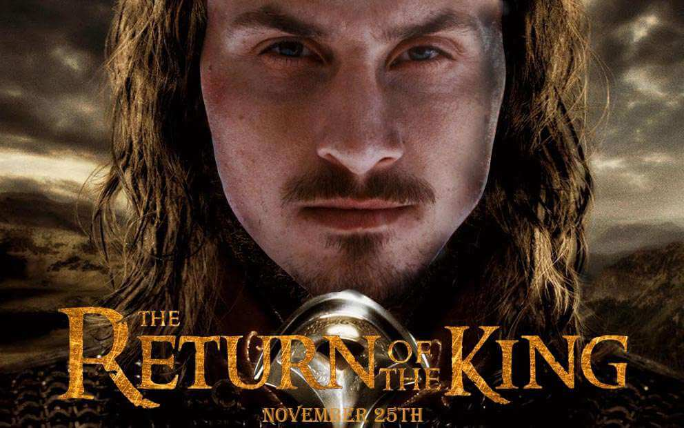 Return of the king Zlatan test