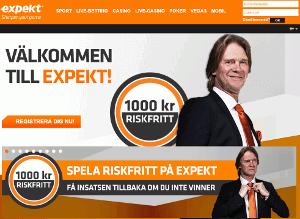 Expekt Kampanjkod augusti 2020: 100% upp till 500kr