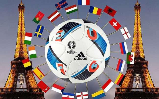 Spel på finalen i Fotbolls-EM 2016