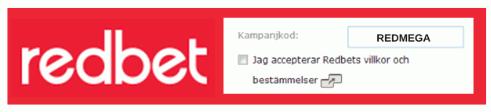 redbet champ code sweden