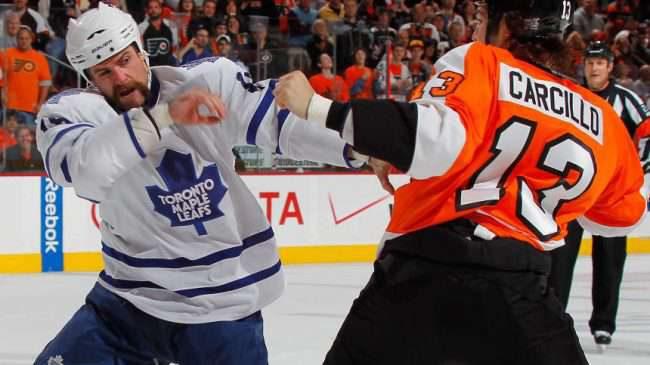 De 5 största hockey-slagsmålen genom tiderna