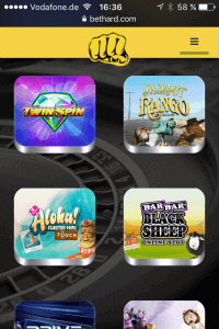 bethard casino app