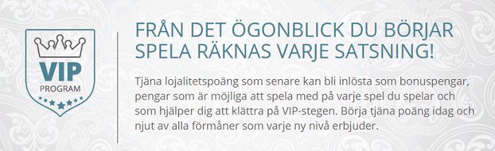 VIP-medlemskap Karamba Casino