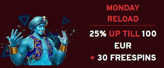 Monday Reload N1 Casino