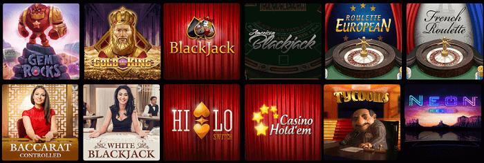 spelutbud N1 Casino