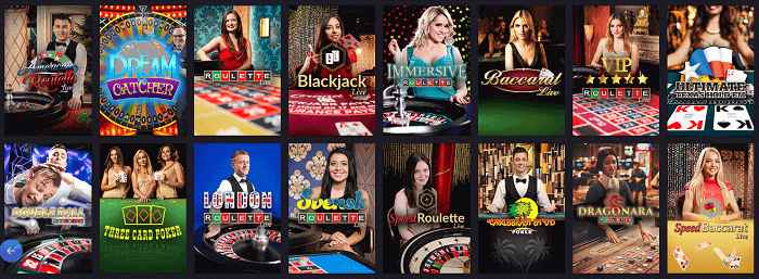 Live Casino Twin Casino