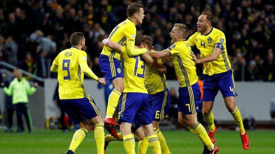 Sverige möter Schweiz åttondelsfinal VM 2018