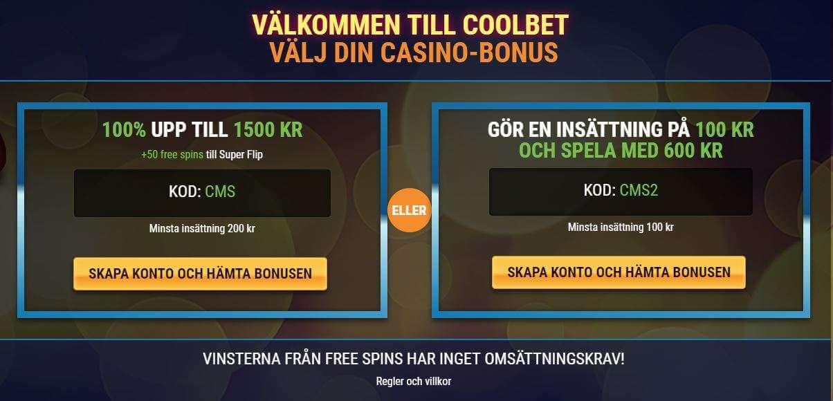 coolbet casino bonus