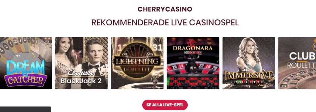 Cherry Casino Live