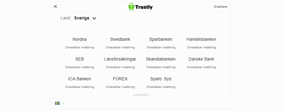 Snabbare Trustly